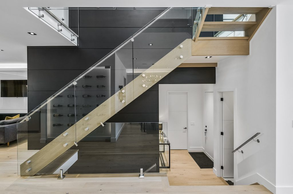 Staircase Focal Wall